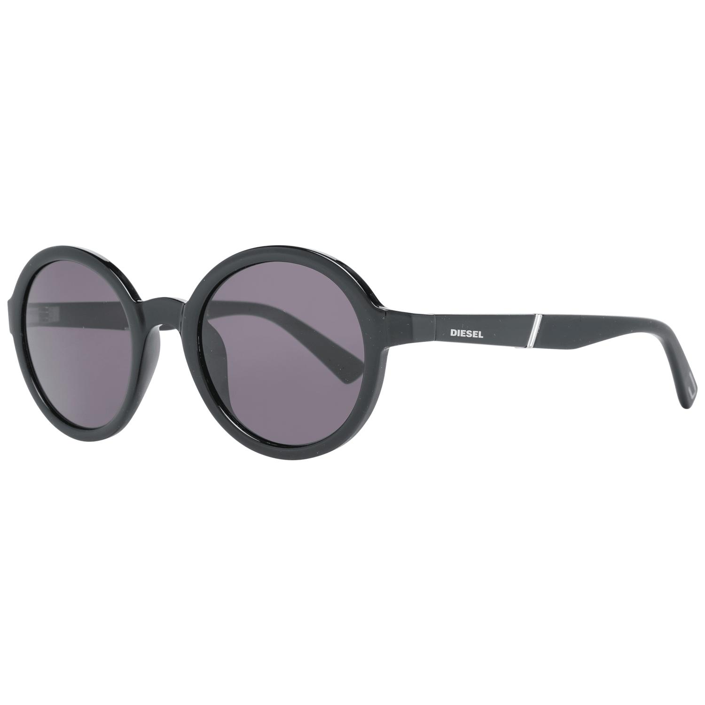 Diesel Unisex Sunglasses Black DL0264 4801A