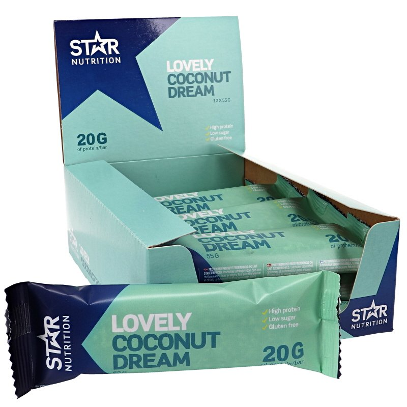 Proteinbars Coconut Dream 12-pack - 33% rabatt