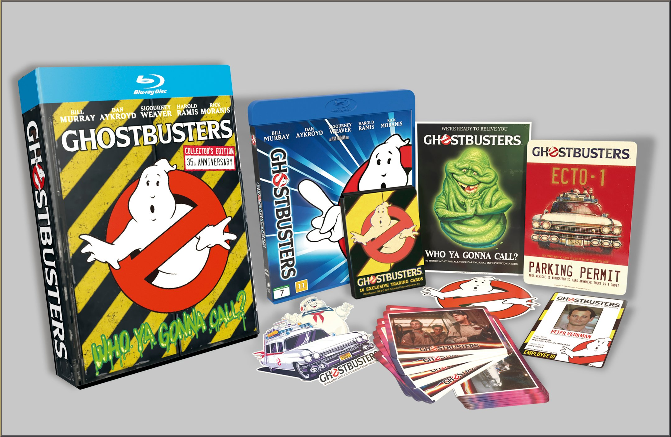 Ghostbusters 35'th anniversary giftset - Blu ray