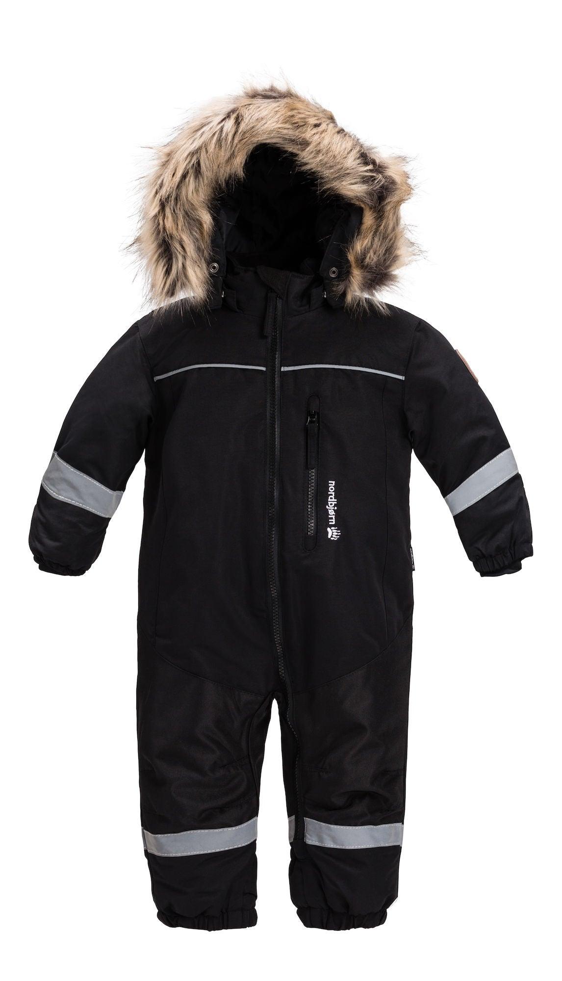 Nordbjörn Igloo Babyoverall, Black 62