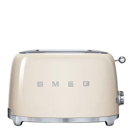 Smeg - 50's Style Brödrost 2 skivor Creme