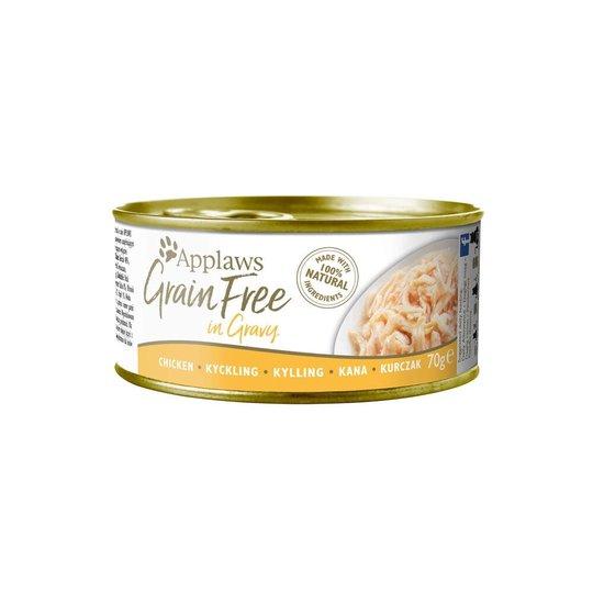 Applaws Cat Grain Free Chicken in Gravy 70 g