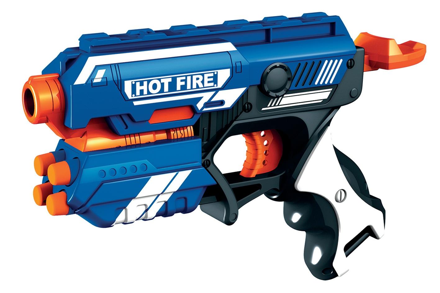 Manual Soft Bullet Gun - Inclusive 5 Darts (520301)