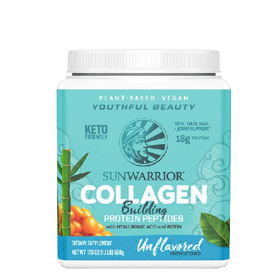 Plant Based Collagen Building Protein Peptides Naturell, 500 g