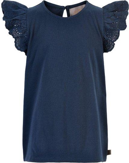 Creamie Lace T-Skjorte, Total Eclipse, 152
