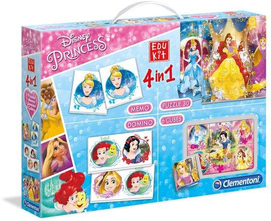 Disney Princess 4 i 1 Spill og Puslespill