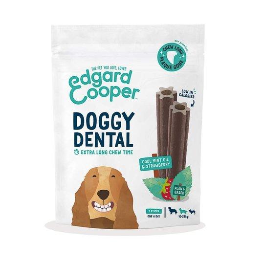 Edgard & Cooper Doggy Dental Tuggpinnar Jordgubbe & Mynta 7-pack (M)