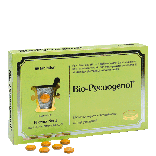 Bio-Pycnogenol, 90 tabletter
