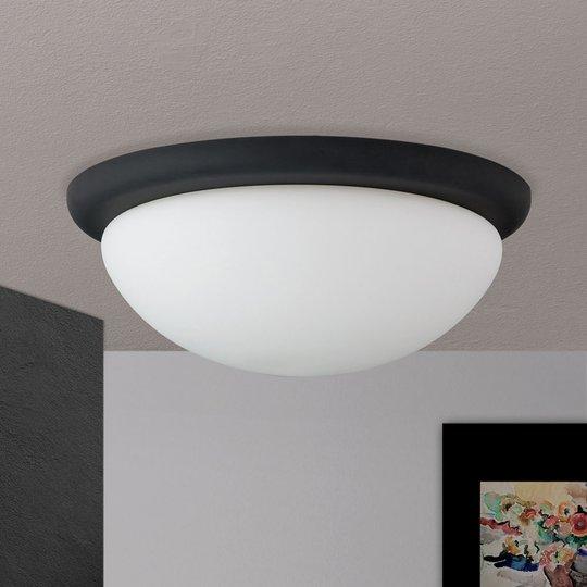 Kattovalaisin Classico, musta/valkoinen, Ø 38 cm