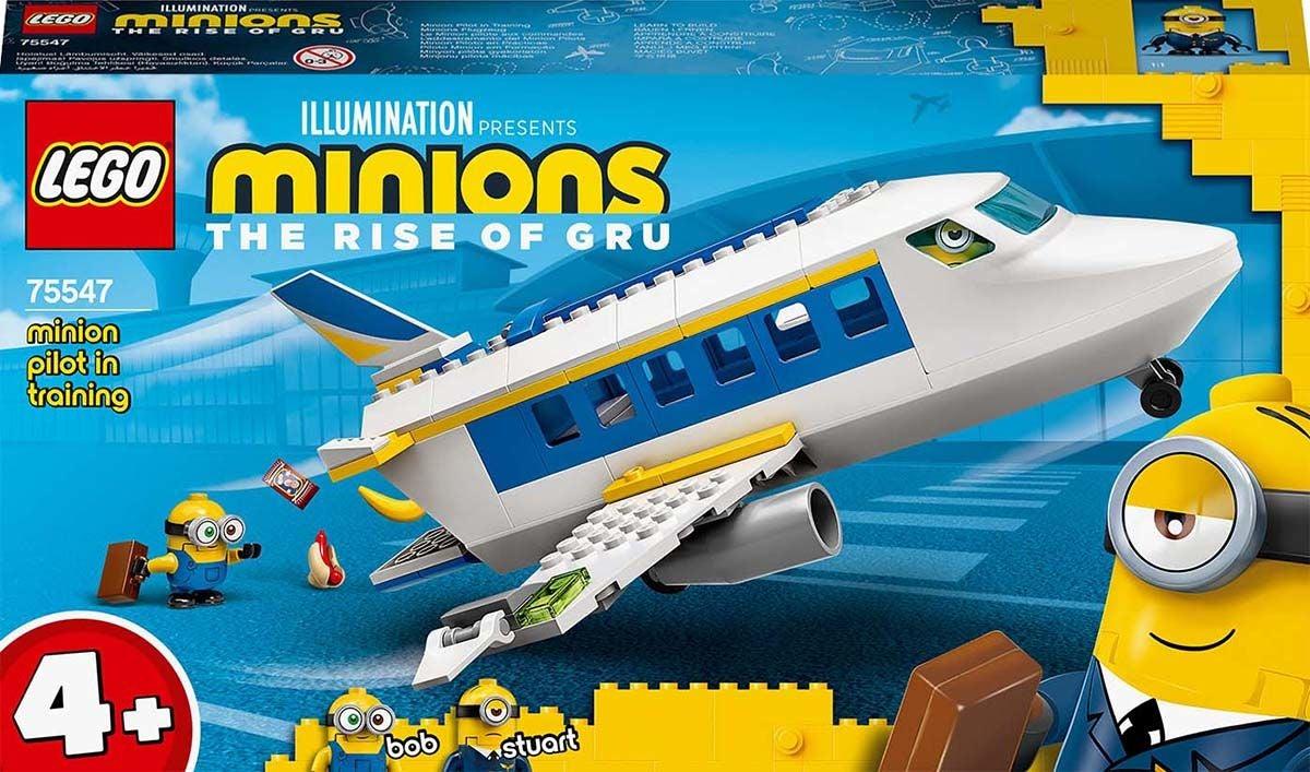 LEGO Minions 75547 Kätyrit: Lentäjäkoulu