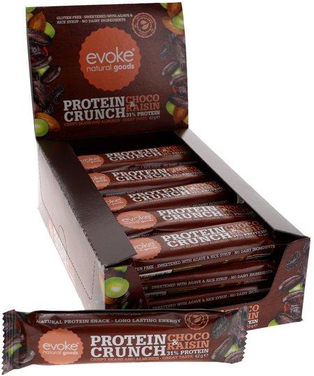 Proteiinipatukat Suklaa & Rusina 24kpl - 40% alennus
