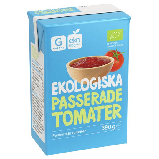 Passerade Tomater 390g - 37% rabatt
