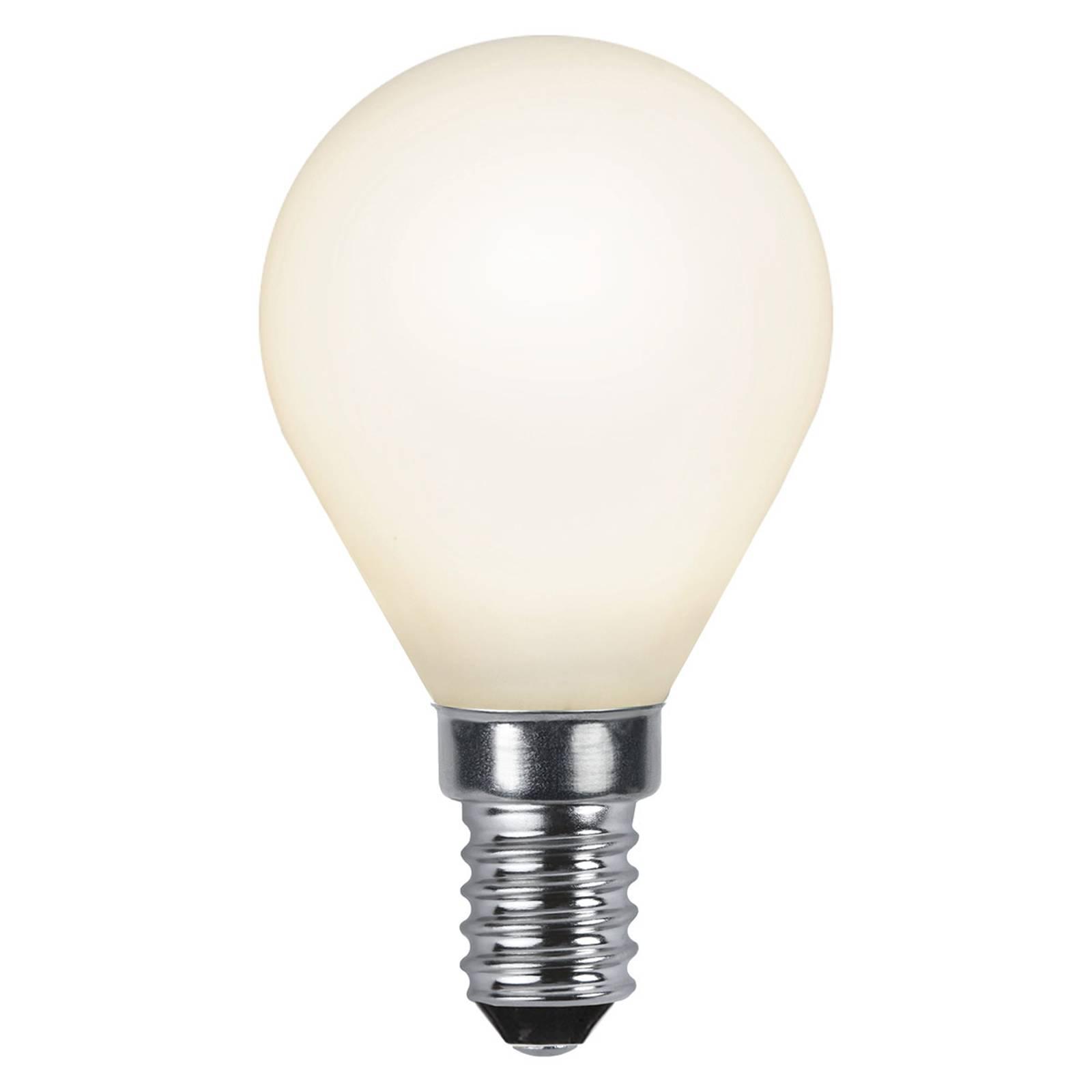LED-pisaralamppu E14 2 700 K opaali Ra90 4,7W