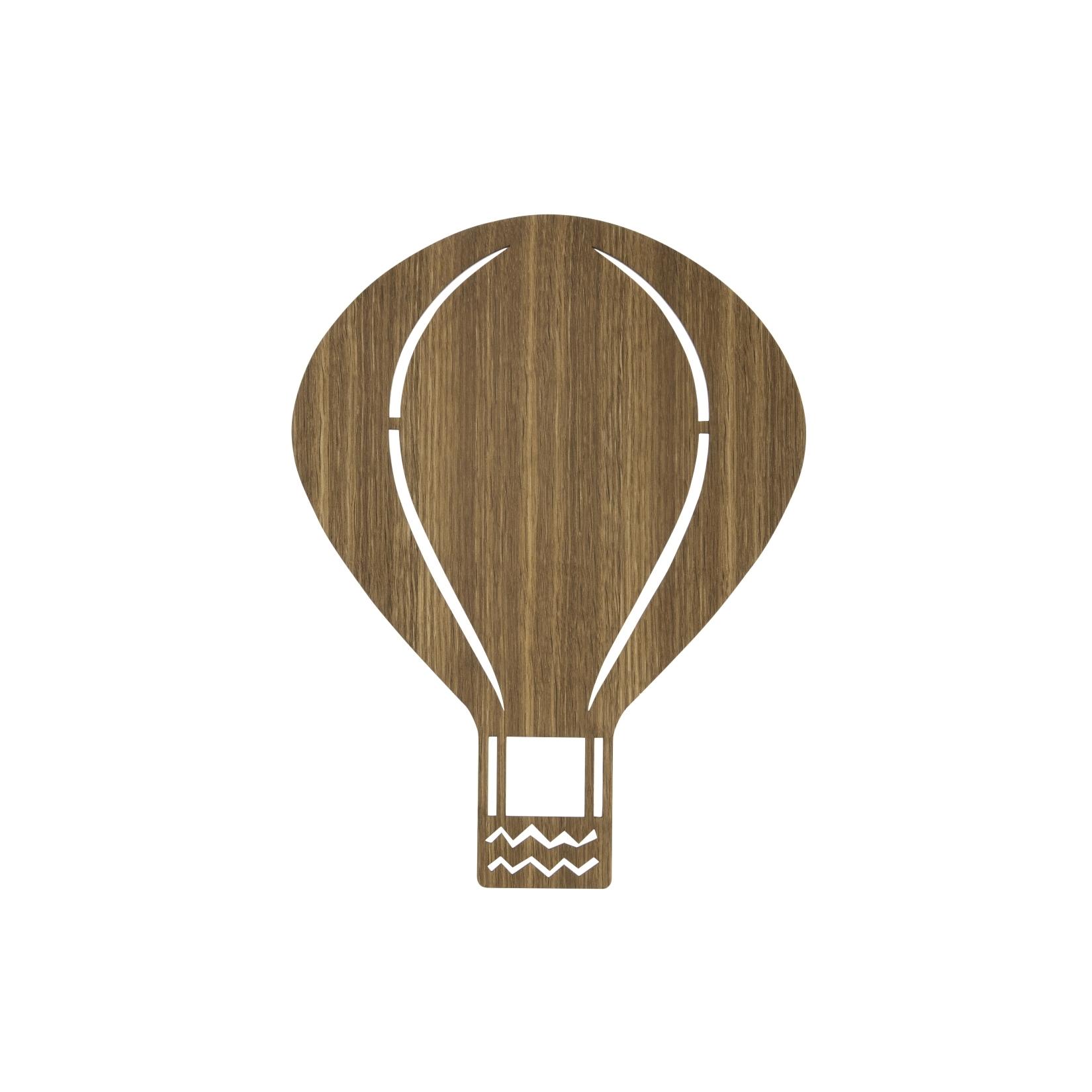 Barnlampa Air Balloon smoked oak, Ferm Living