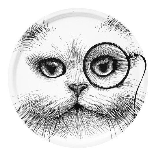Rory Dobner - Tremendous Tray Cat Monocle 38 cm