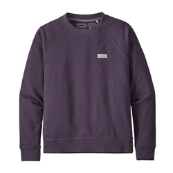 Patagonia W's Pastel P-6 Label Organic Crew Sweatshirt