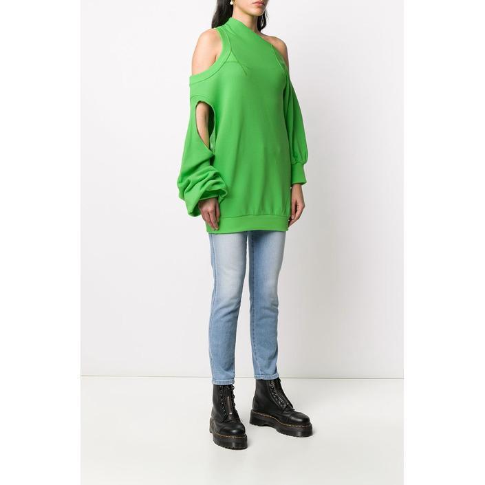 Diesel Women's Sweatshirt Green 299781 - green S