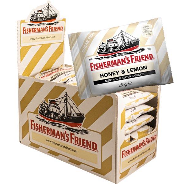 Fisherman's Friend Honey/Lemon - 24 st