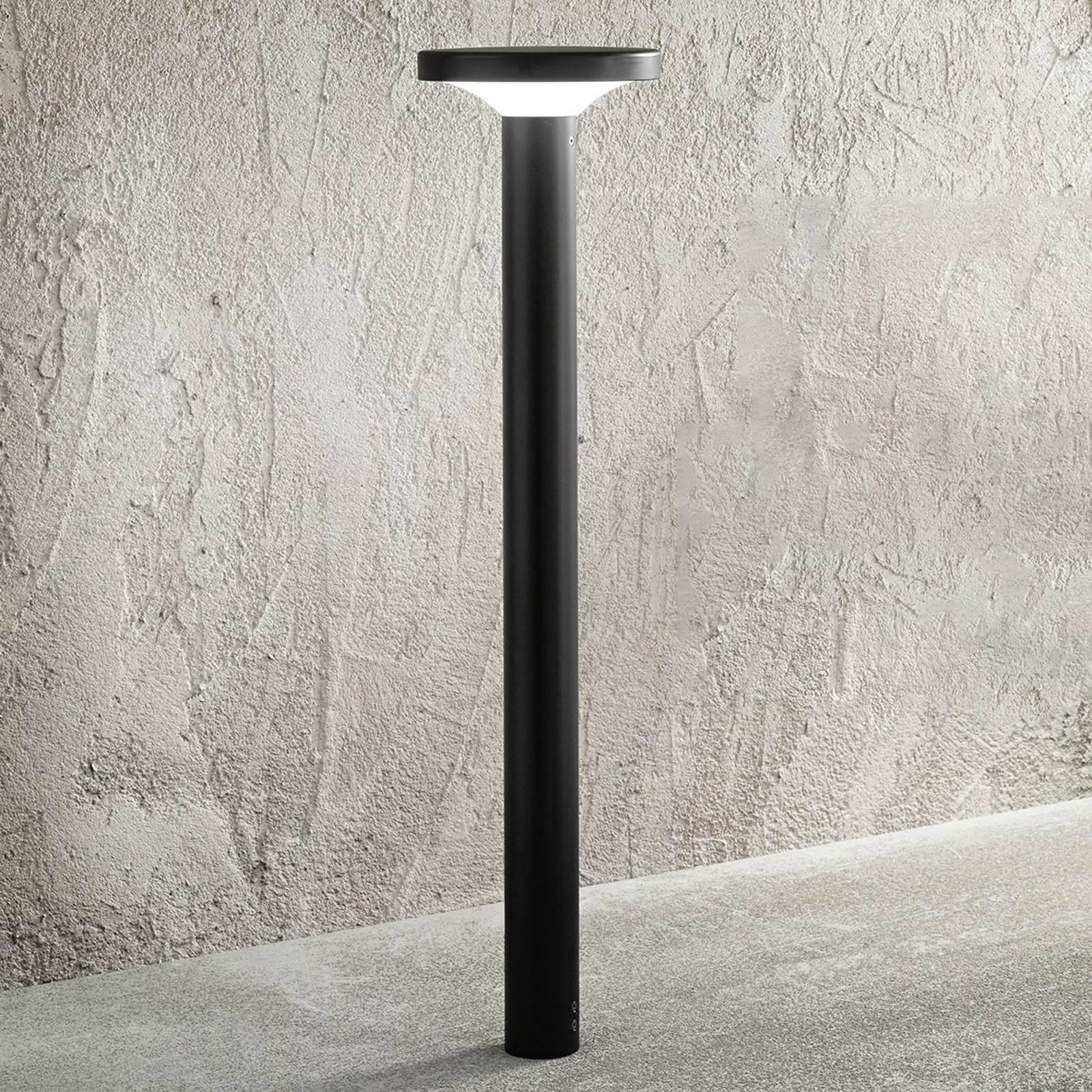 LED-pylväsvalaisin MyWhite_Bond, moderni musta