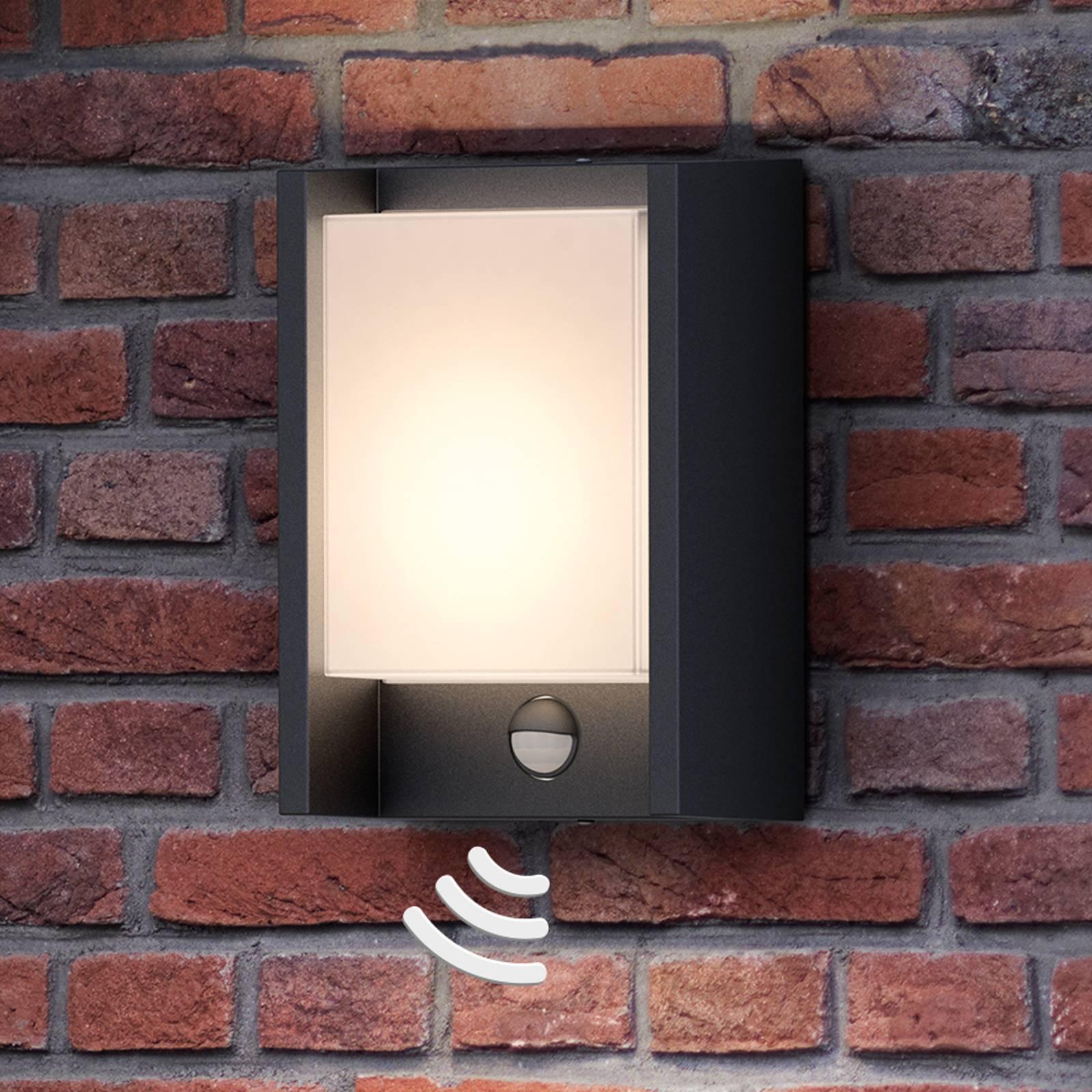 Philips Arbour LED-ulkoseinävalo 1-lampp tunnistin
