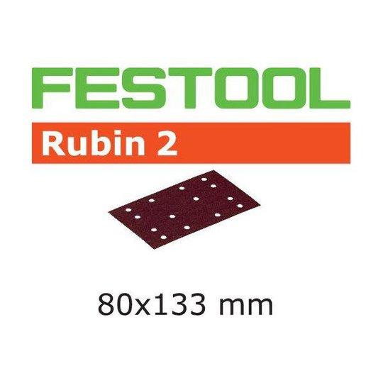 Festool STF RU2 Hiomapaperi 80x133mm 10 kpl. P100