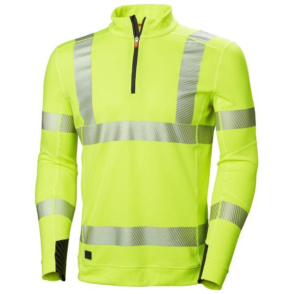 Helly Hansen Workwear Lifa Active Aluspaita huomiotakki, keltainen S