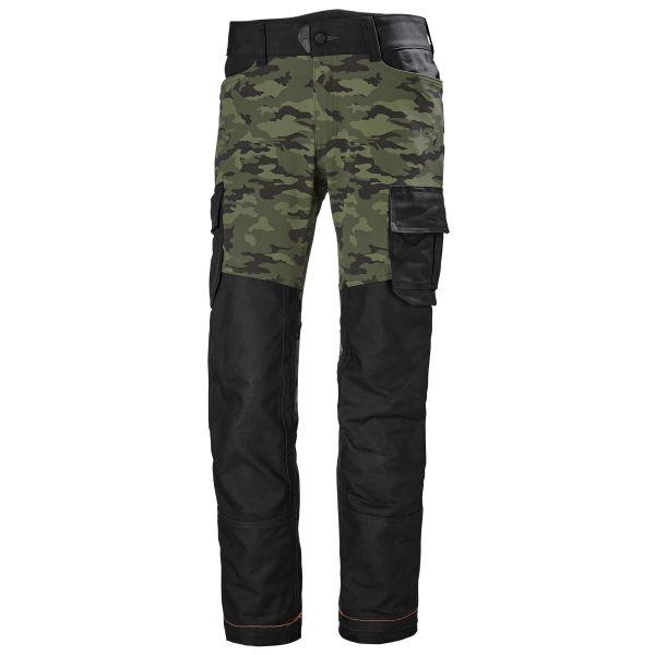 Helly Hansen Workwear Chelsea Evolution Työhousut camo/musta C44