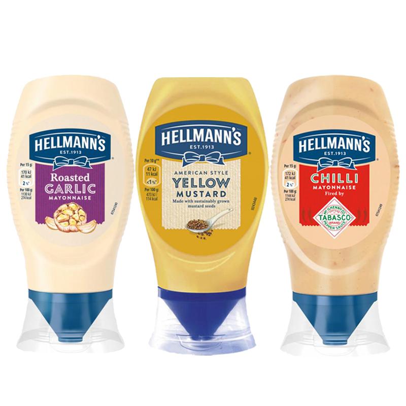 Hellmann's Kastikkeet - 68% alennus