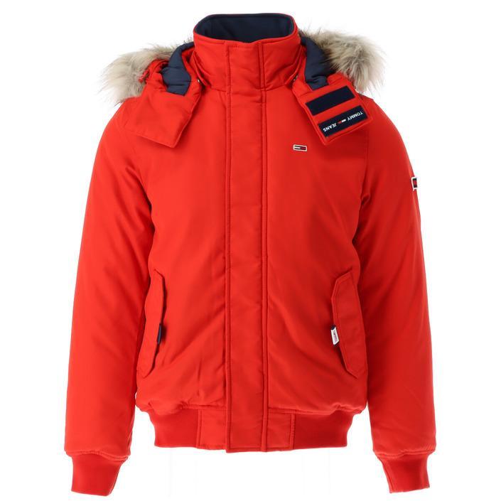 Tommy Hilfiger Jeans Men's Jacket Red 300912 - red XXL