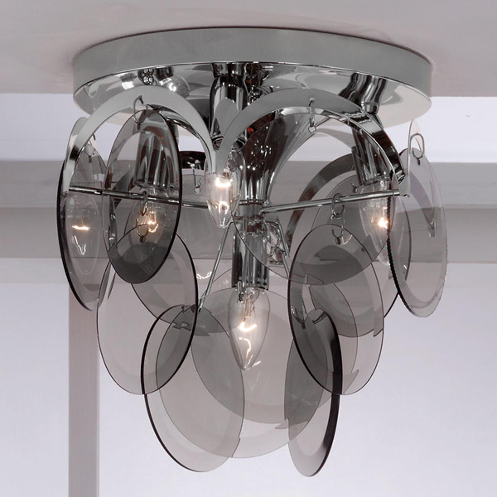 Savulasiriipus – kattovalaisin Carolo, 4-lampp.