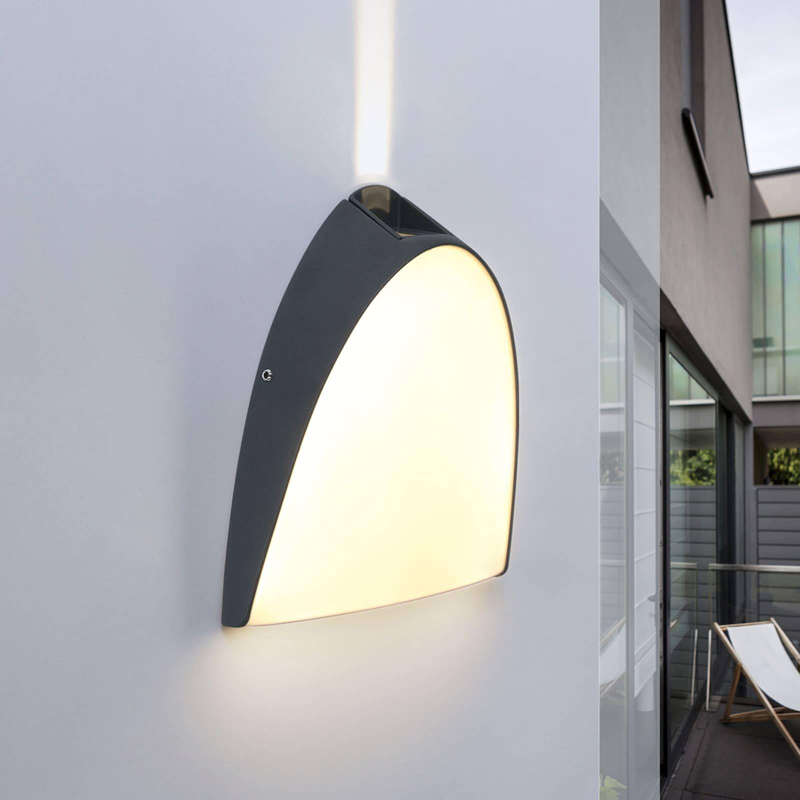 Apollo - LED-ulkoseinälamppu, ylätehostevalo