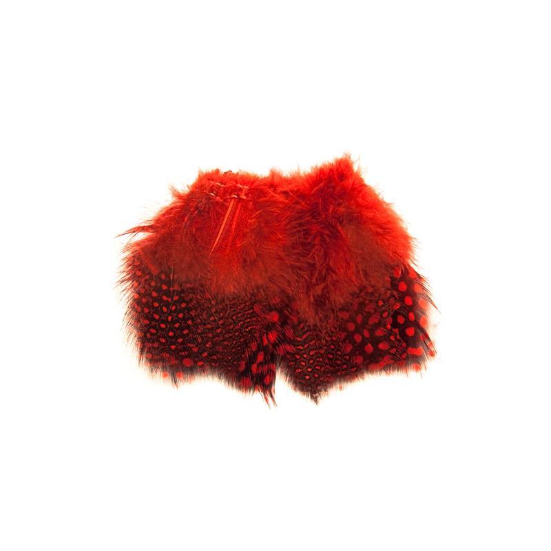 Guinea Fowl Strung - Red Perlehøne