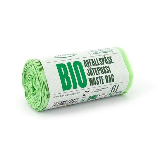 BioBag Komposterbar Avfallspåse - 6 L, 30-pack