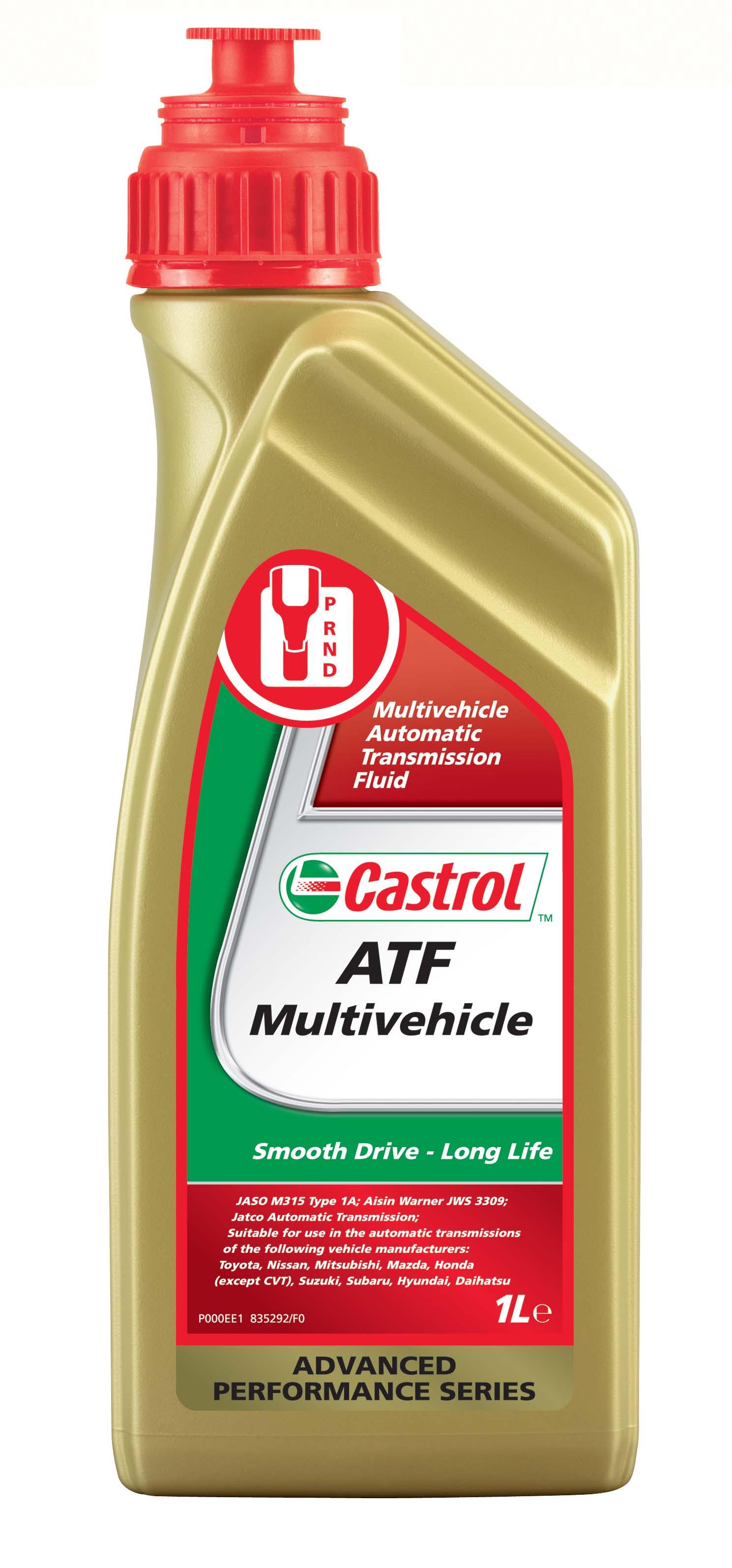 Automaattivaihteiston Puhdistusaine CASTROL ATF MULTIVEHICLE DOSE 1L