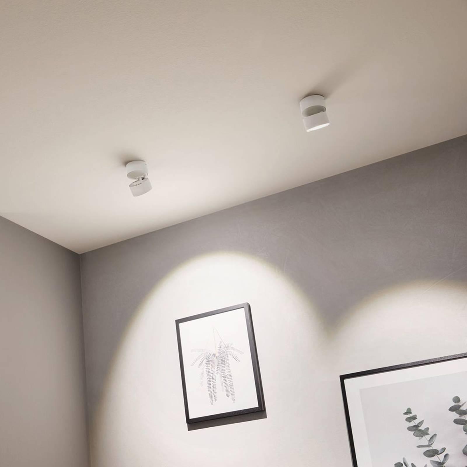 Paulmann Spircle -LED-alasvalo, mattavalkoinen