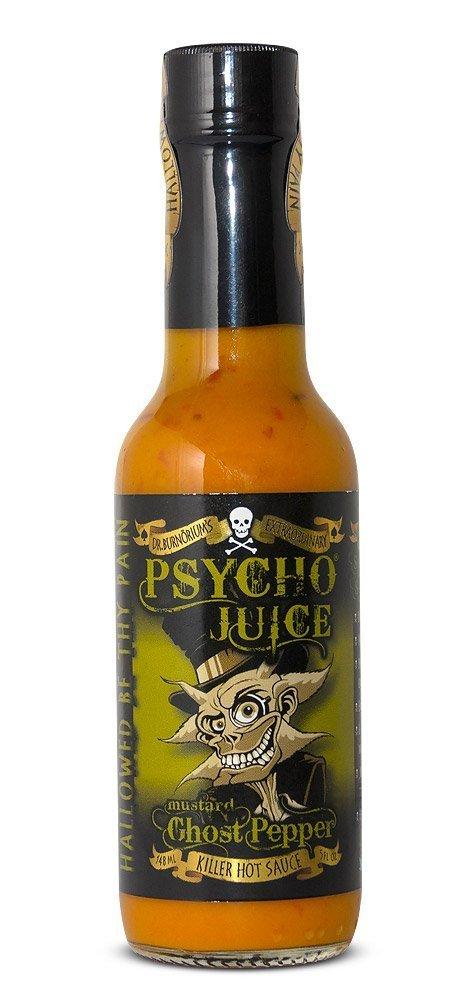 Psycho Juice Mustard Ghost Pepper 148ml
