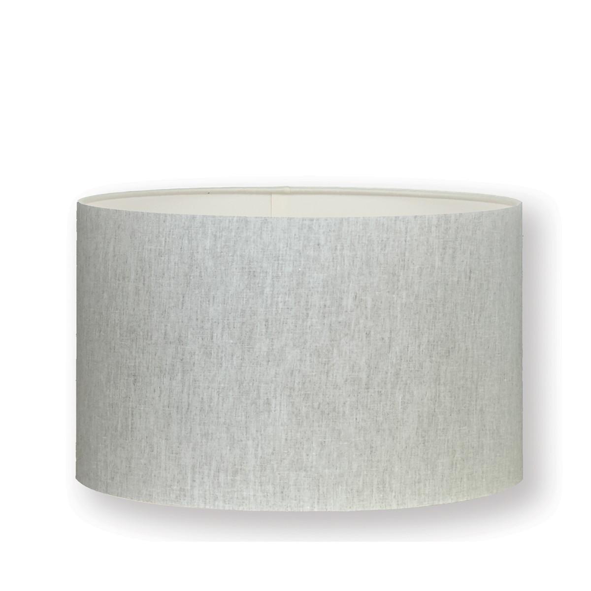 "William Yeoward | Linen 18"" Drum Lampshade Oatmeal"