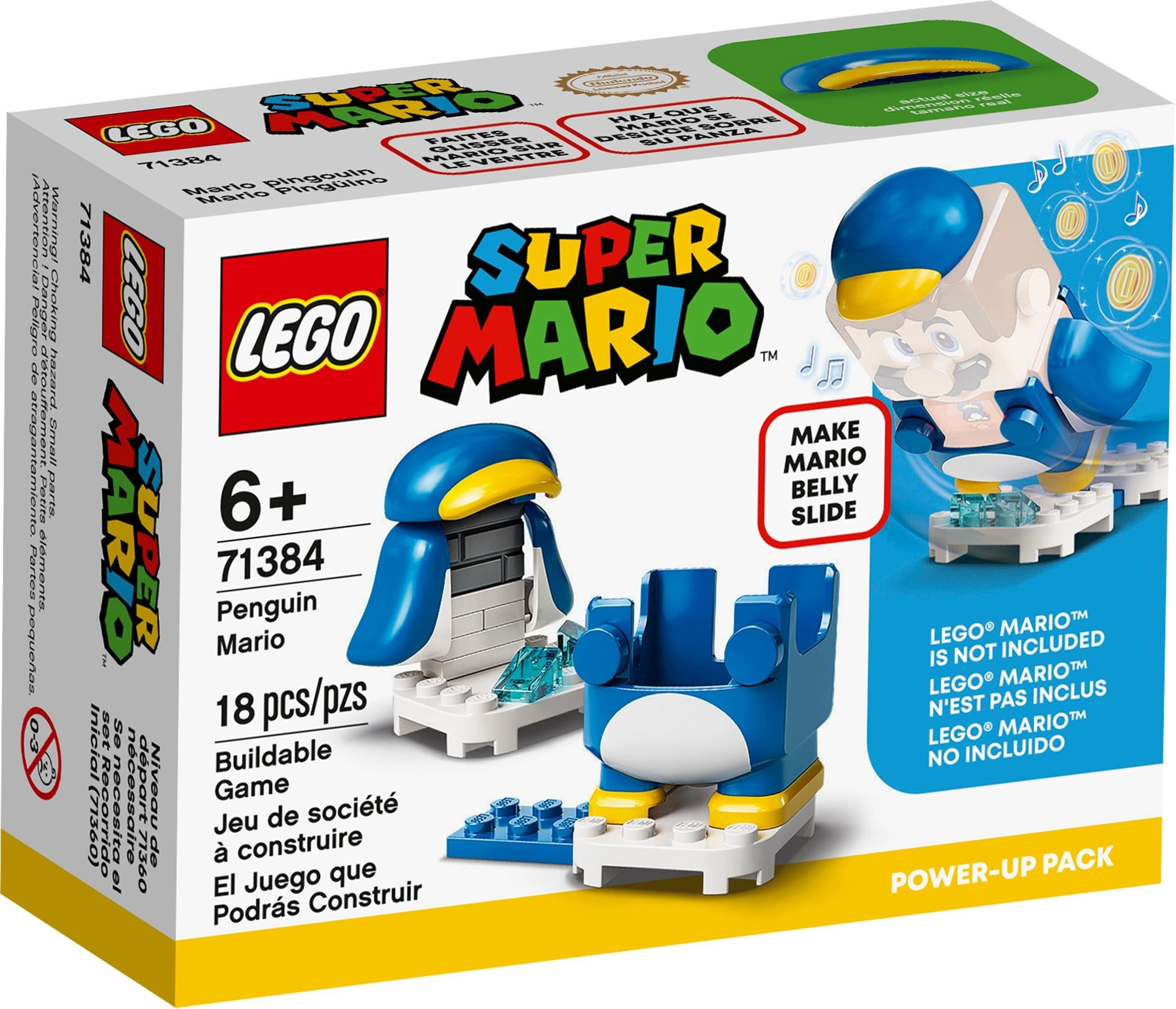 LEGO Super Mario - Penguin Mario Power-Up Pack (71384)