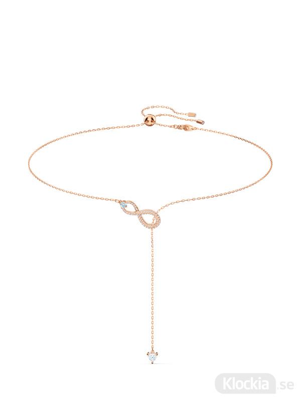 Damsmycke Swarovski Halsband Infinity Y