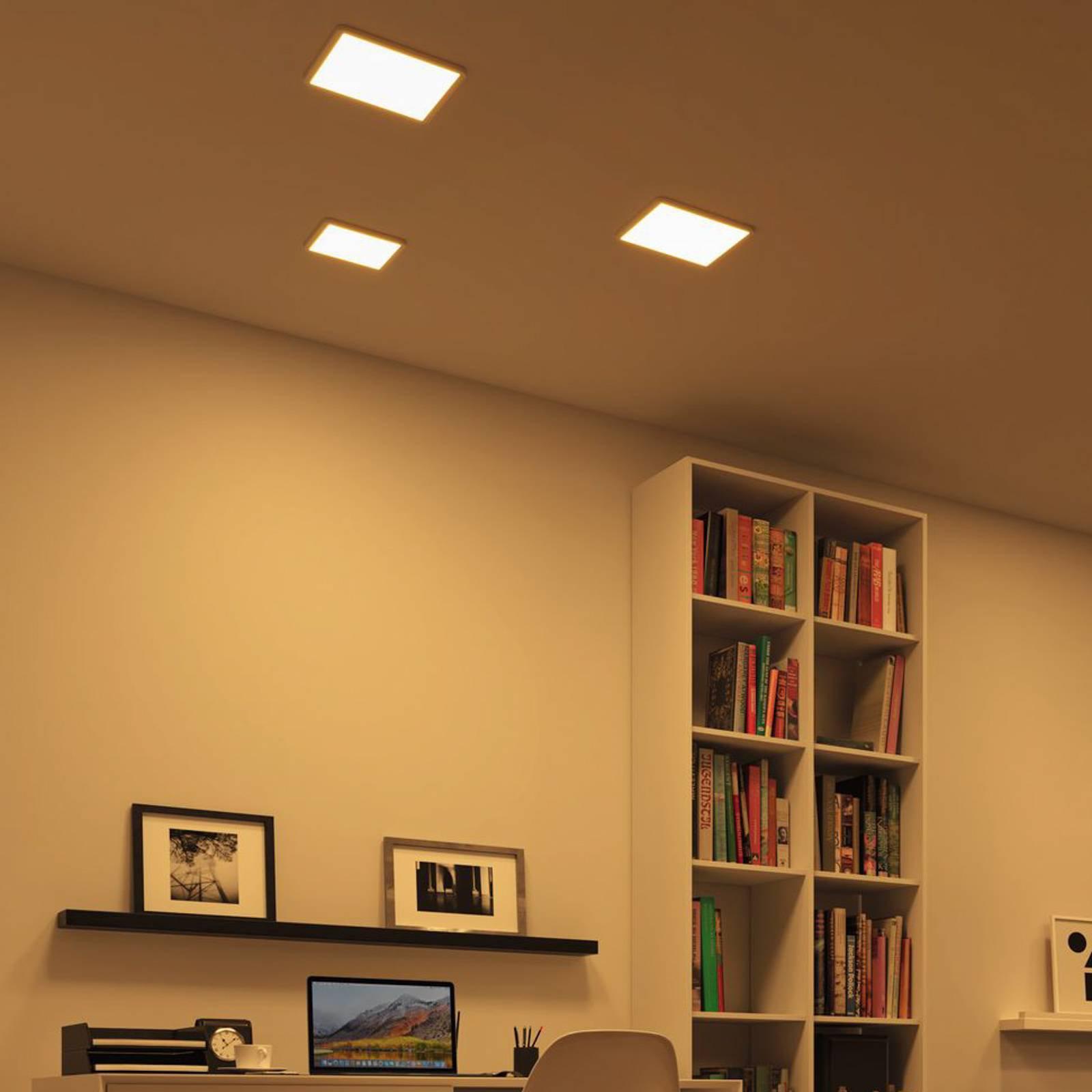 Paulmann LED-panel Areo ZigBee kantet hvit 17,5 cm