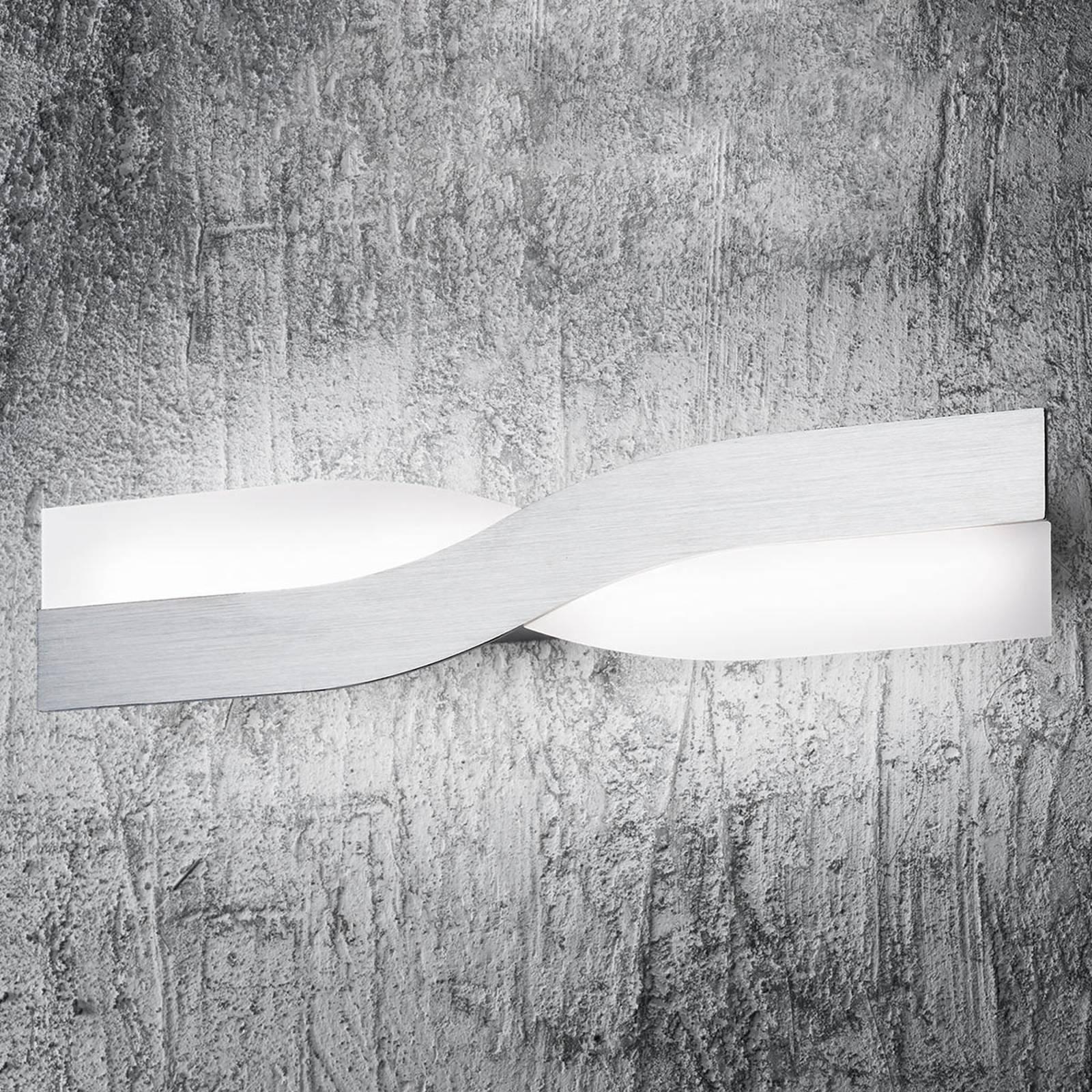 LED-vegglampe Riace, 50 cm aluminium