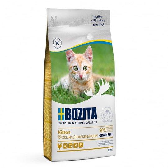 Bozita Kitten Grain Free Kyckling (10 kg)