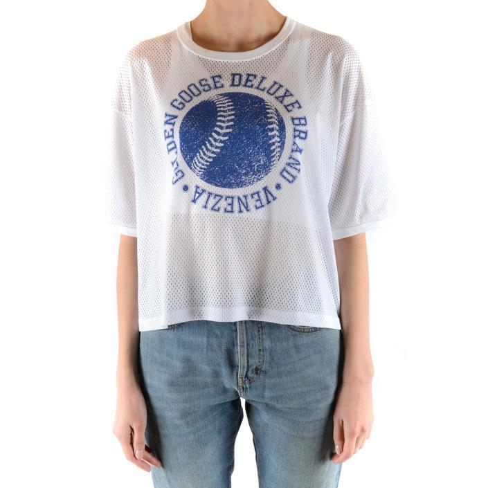 Golden Goose Women's T-Shirt White 164908 - white XS
