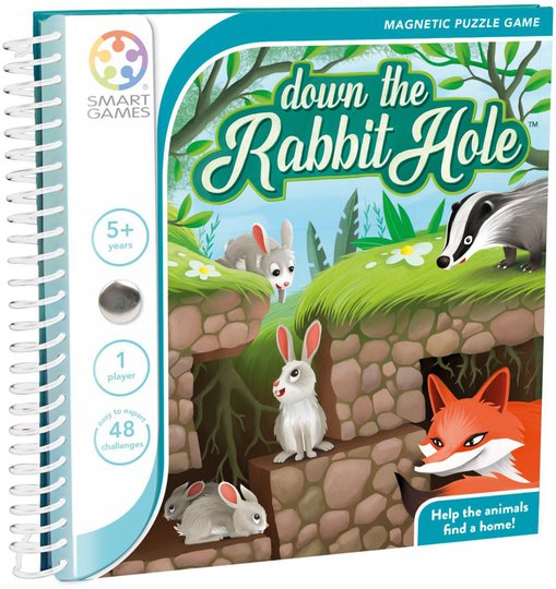 SmartGames Spill Down the Rabbit Hole