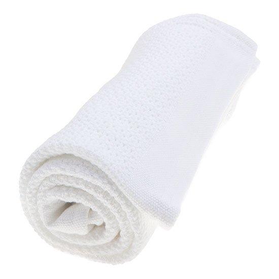 Vinter & Bloom - Filt Soft Grid Blanket ECO - Bright White