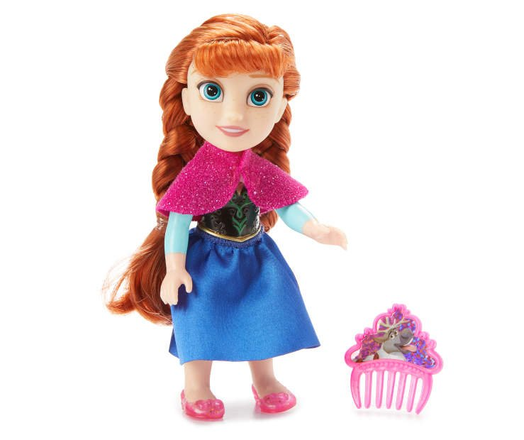 Disney Frozen - Petite with Hard Bodice + Comb - Anna (20596)