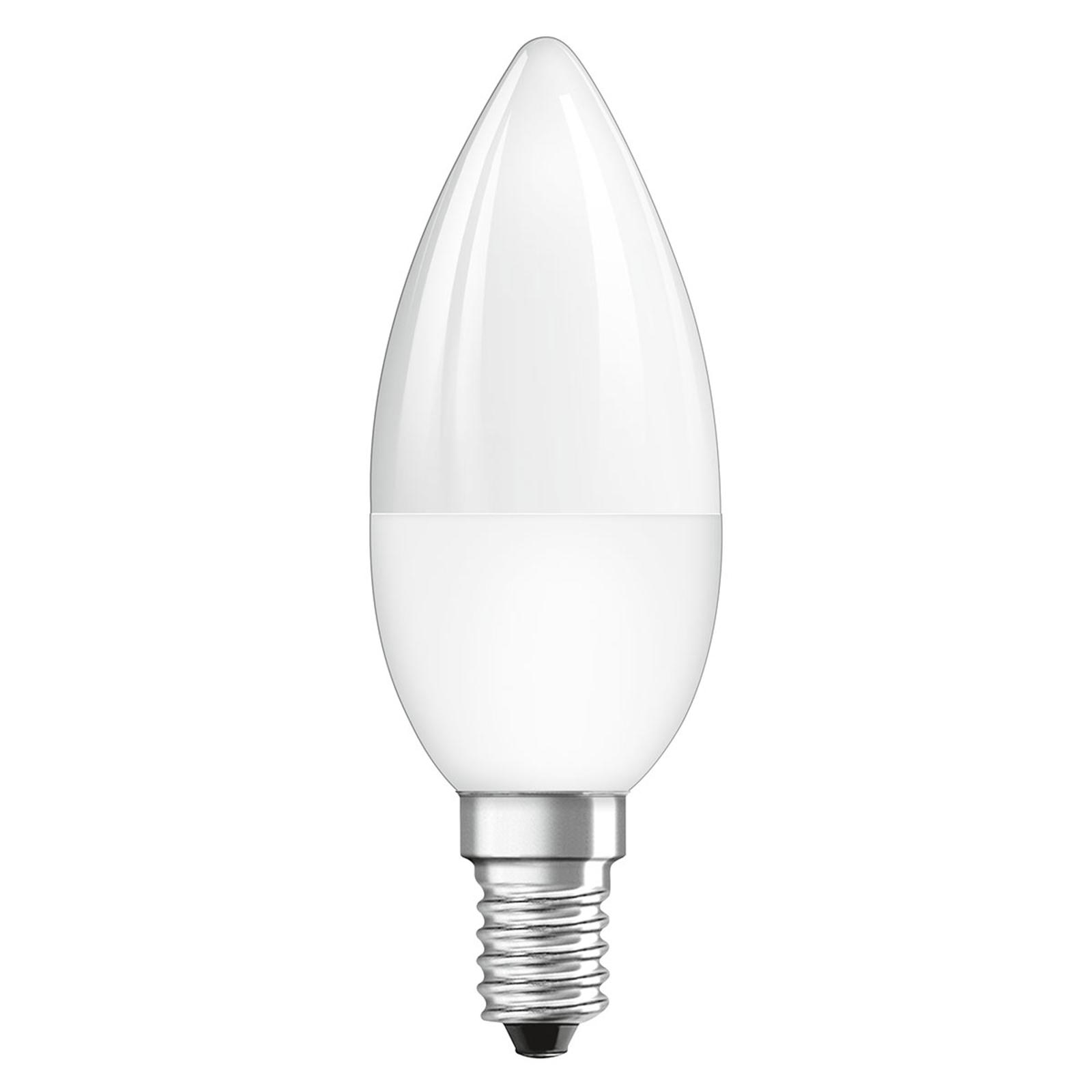 OSRAM-LED-lamppu E14 4,5W Star+kynttilä Remote