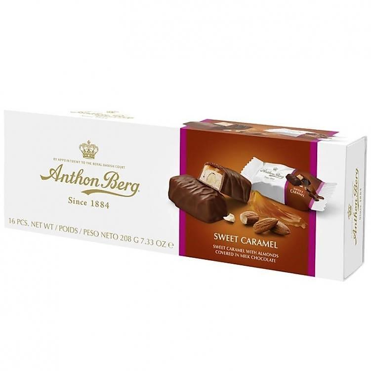 "Mjölkchoklad ""Sweet Caramel"" 208g - 42% rabatt"