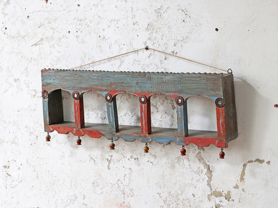 Ornate Wall Arched Rack