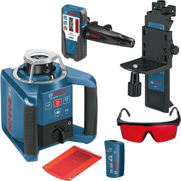 Bosch GRL 300 HV Rotasjonslaser med lasermottaker